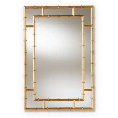 Adra Antique Gold Wall Mirror