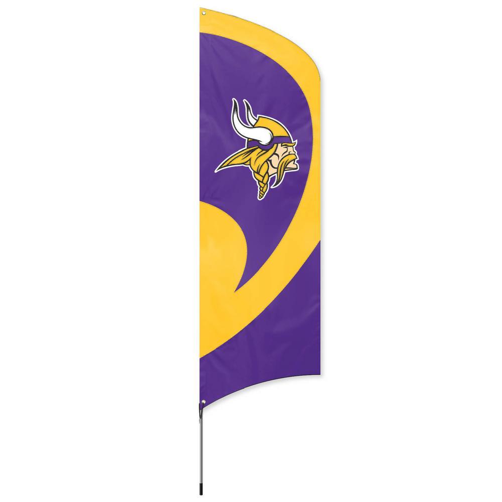 Minnesota Vikings Tall Team Flag