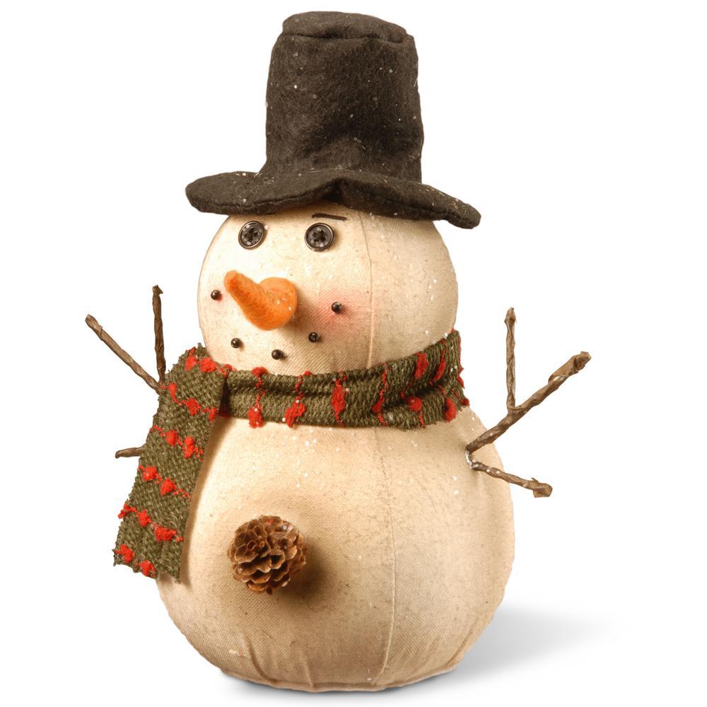 10 in. Snowman Decoration