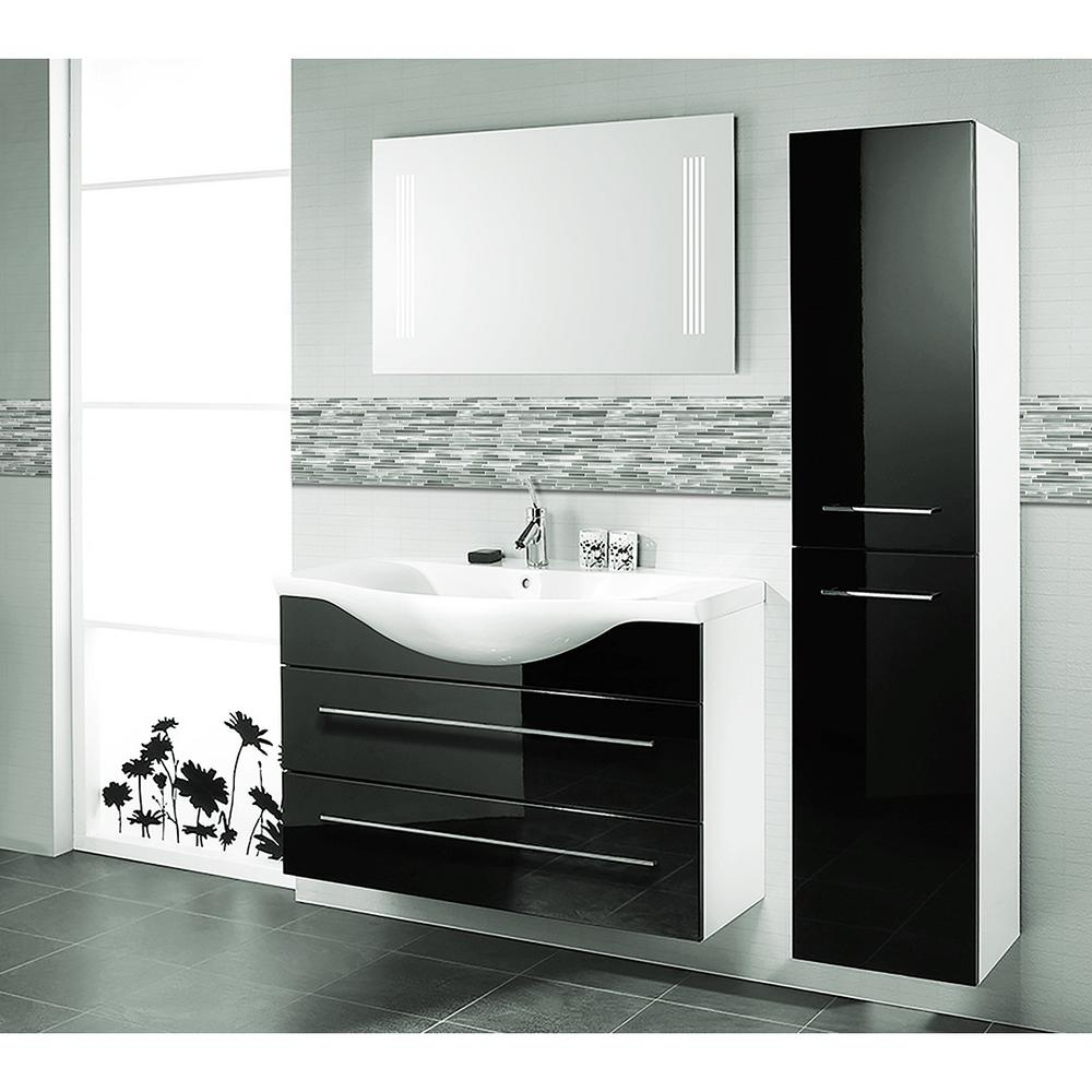 Abolos Blissful Metal 1175 In X 16 In Thin Linear Brushed Silver