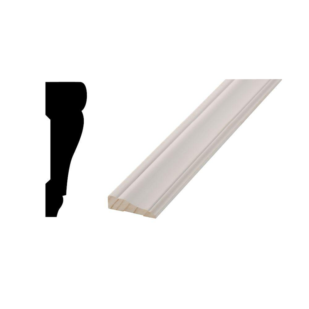 Genial WM 442   11/16 In. X 2 1/4 In. X 84 In. Primed Finger Jointed Door Casing  Moulding Pack 10001389   The Home Depot