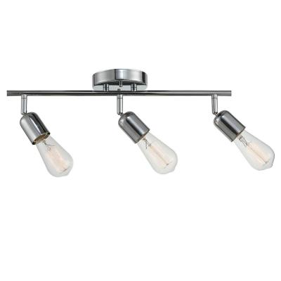 Pearson 19 in. 3-Light Chrome Track Lighting Kit