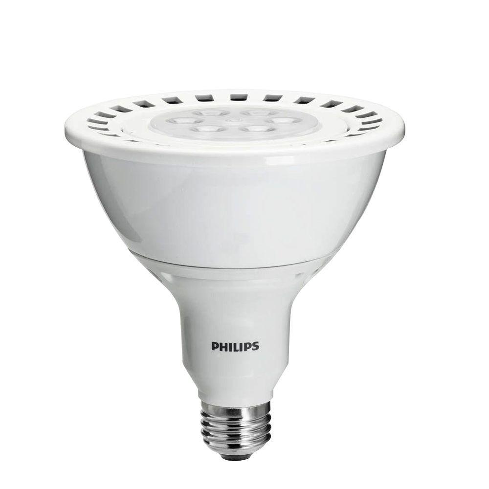 Philips 90W Equivalent Soft White (2700K) PAR38 Dimmable LED Flood Light Bulb (6-Pack)