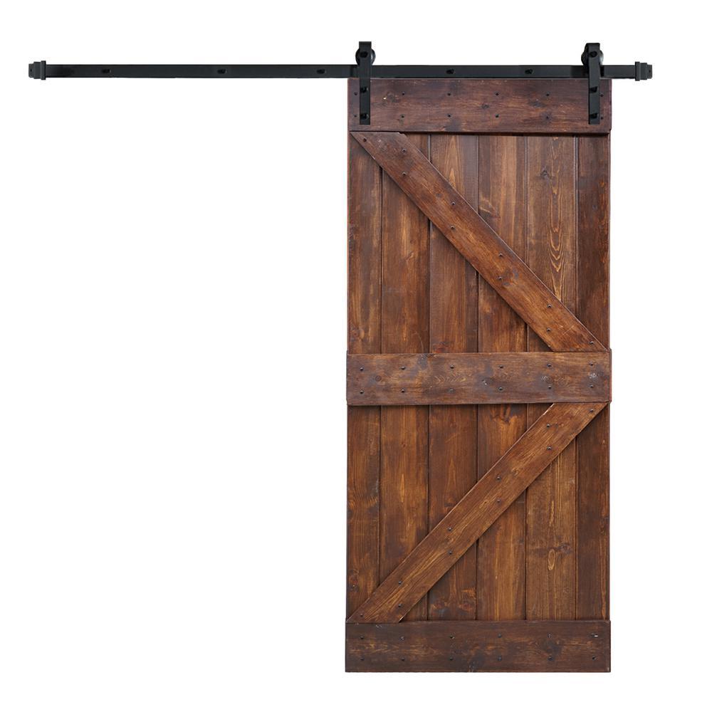 38 X 84 Barn Doors Interior Amp Closet Doors The Home