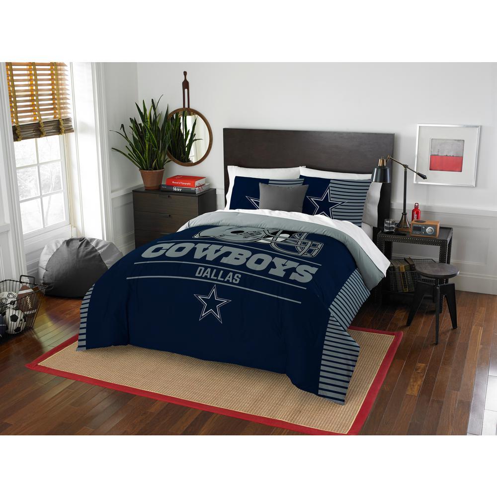 Cowboys 3-Piece Multicolored Full Comforter Set
