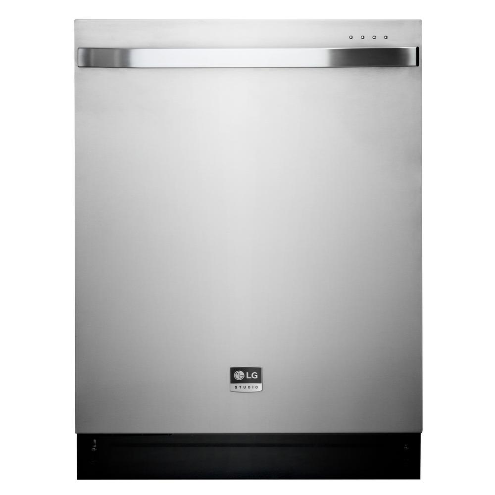 LG STUDIO Top Control Dishwasher in Stainless Steel with ...