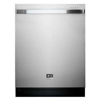 LG STUDIO Top Control Dishwasher in Stainless Steel with Stainless Steel Tub and TrueSteam Technology by LG STUDIO