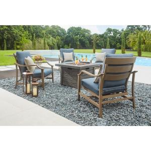 Deals on Home Decorators Collection Bridewell Aluminum Patio Fire Pit