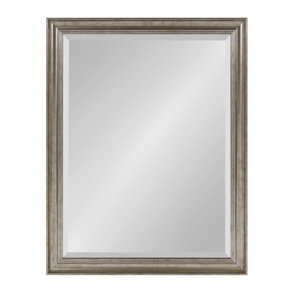 Macon Rectangle Silver Mirror