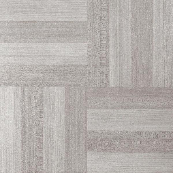 Sterling Ash Grey Parquet 12 in. x 12 in. Peel and Stick Vinyl Tile (45 sq. ft. / case)