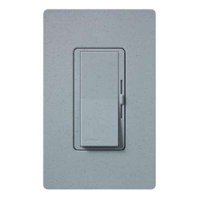 Diva Magnetic Low Voltage Dimmer, 450-Watt, Single-Pole, Bluestone