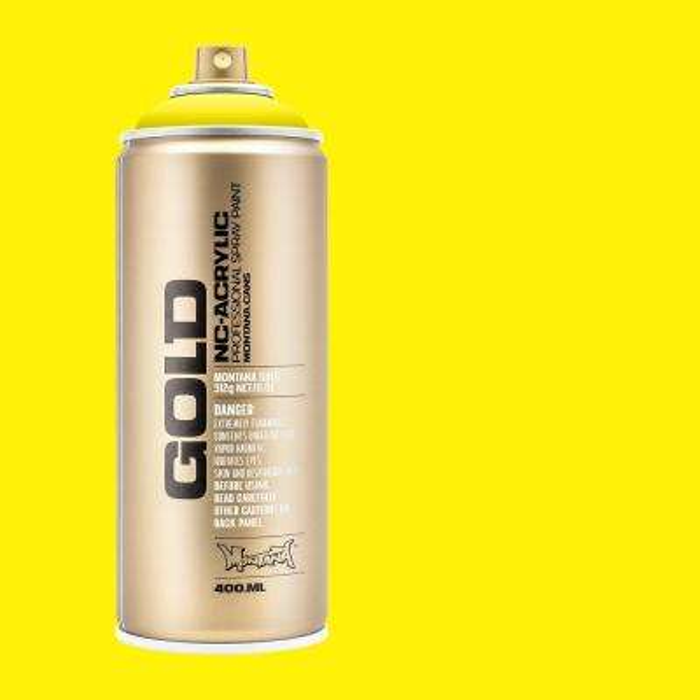 13 oz. GOLD 100 Percent Yellow Spray Paint