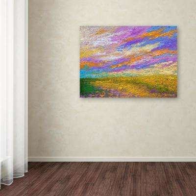 """35 in. x 47 in. """"Mini Landscape"""" by Marion Rose Printed Canvas Wall Art"""