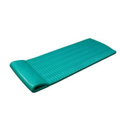Teal Luxury Mat Lounge for Swimming Pools - NBR Foam Rubber Flotation Device