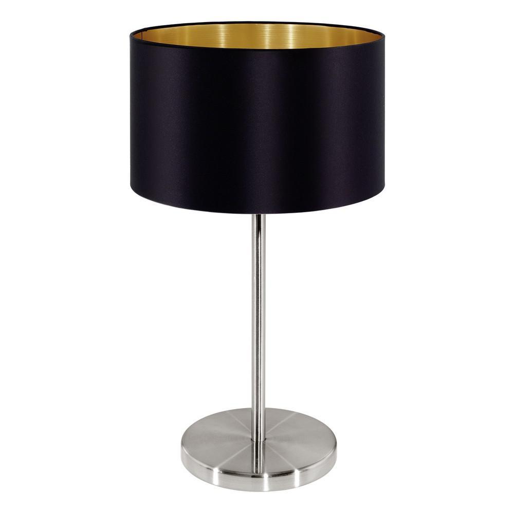 Bon EGLO Maserlo 16 In. Matte Nickel Table Lamp