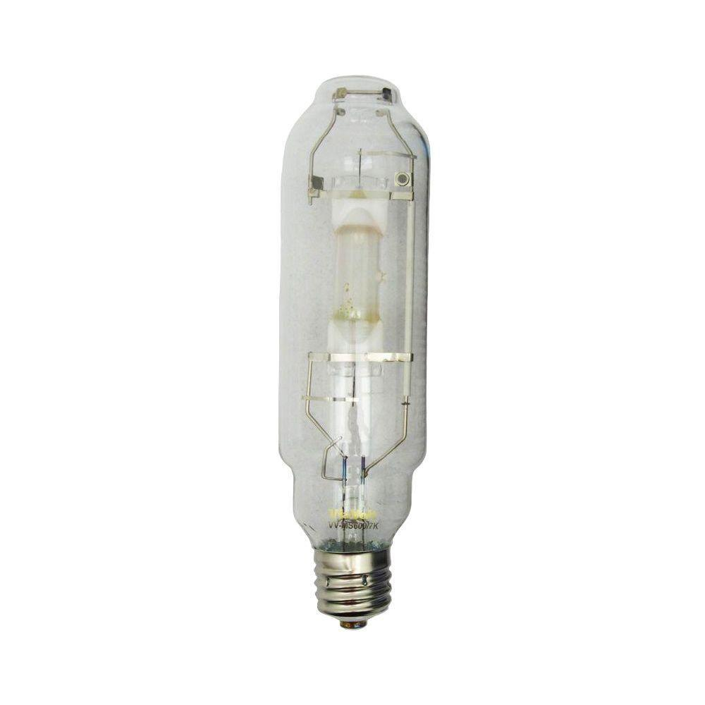 Heat Generated By Metal Halide Lamp: ViaVolt 600-Watt Metal Halide Replacement HID Grow Bulb