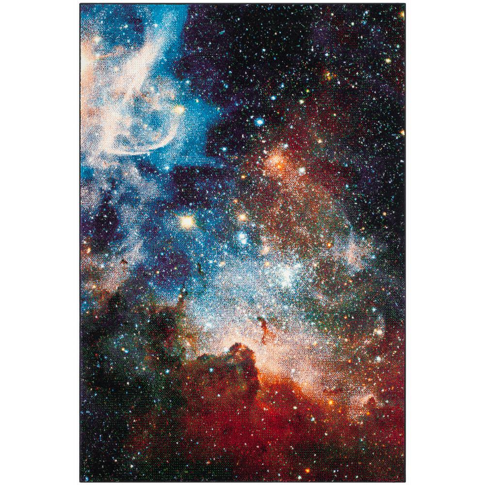 Safavieh Galaxy Purple/Multi 5 ft. x 8 ft. Area Rug