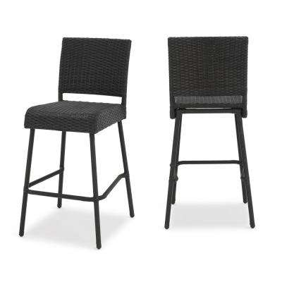 Timothy Wicker Outdoor Bar Stool (2-Pack)