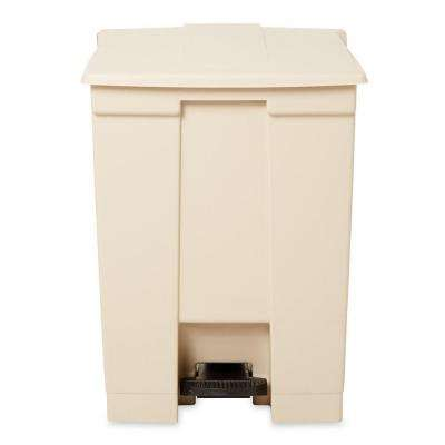 18 Gal. Fire-Safe Step-On Beige Trash Can