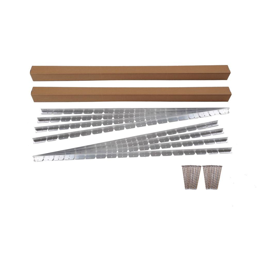 48 ft. Commercial Grade Aluminum Paver Edging Kit