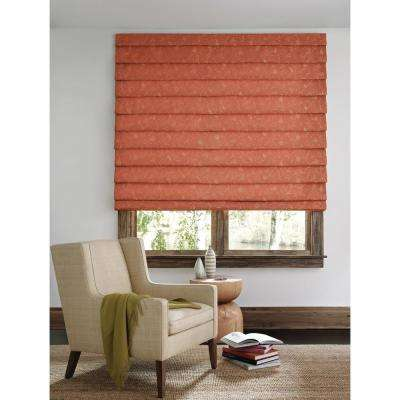 Installed Hunter Douglas Design Studio Roman Shades