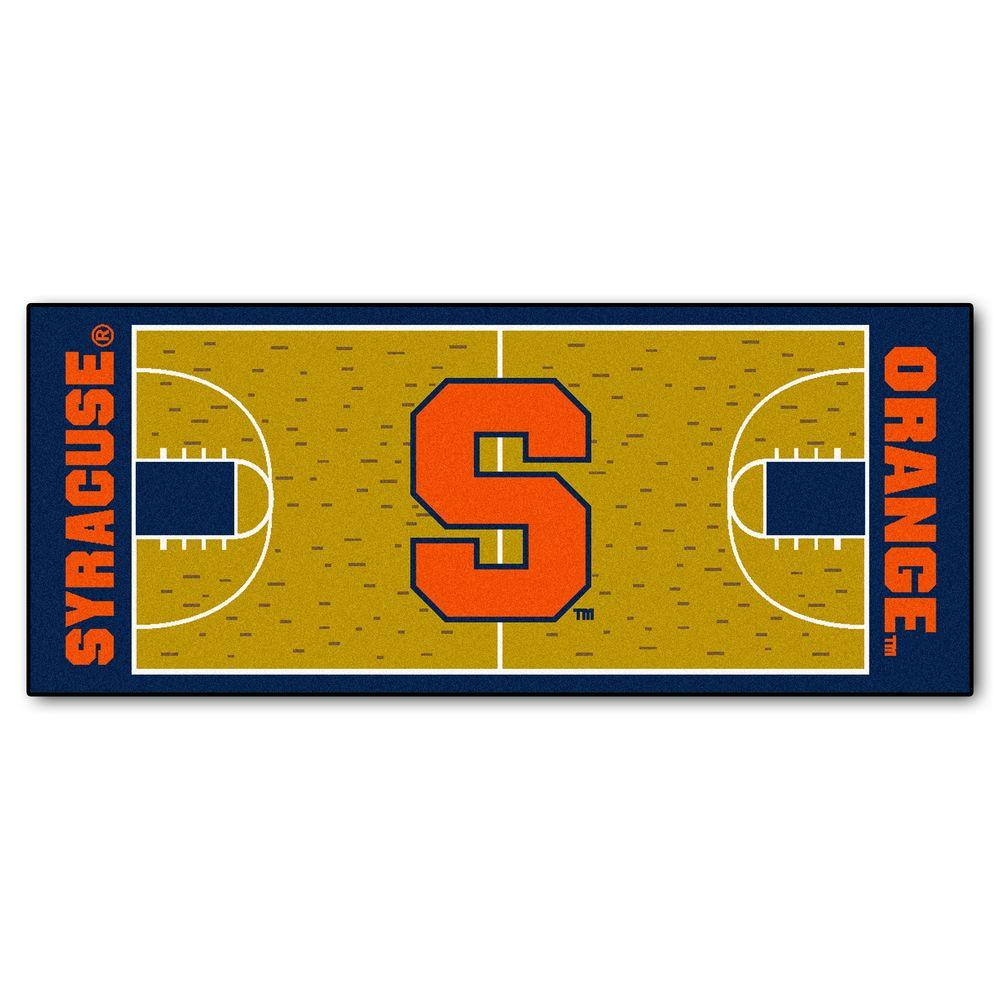 FANMATS Syracuse University 2 Ft. 6 In. X 6 Ft. Basketball