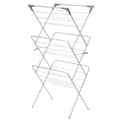 24.41 in. x 53.15 in. Steel Collapsible Drying Rack