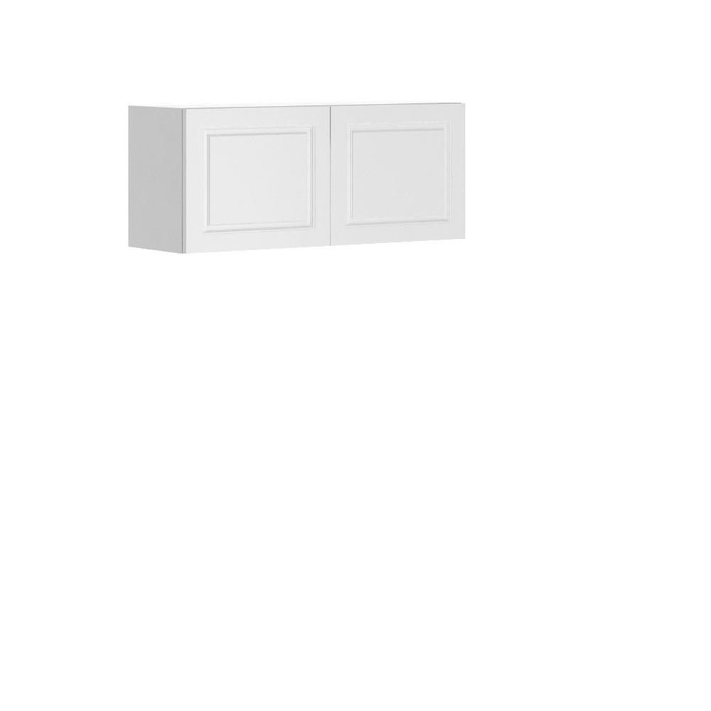 Lausanne Ready to Assemble 36x15x12.5 in. Florence Wall Thermofoil Cabinet with