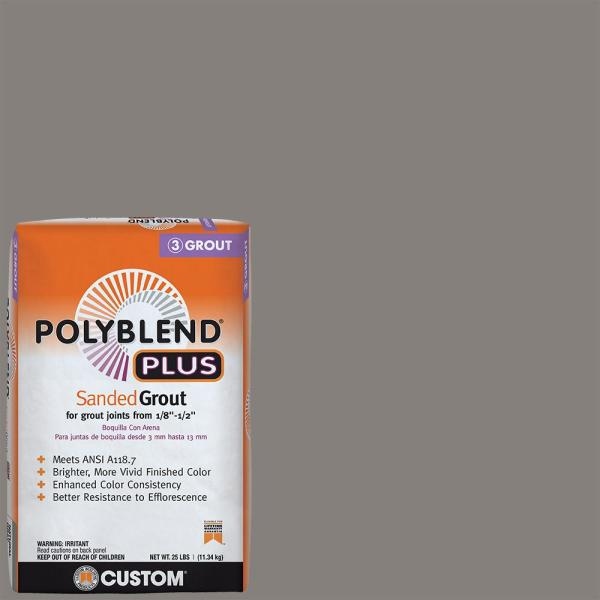 Polyblend Plus #335 Winter Gray 25 lb. Sanded Grout