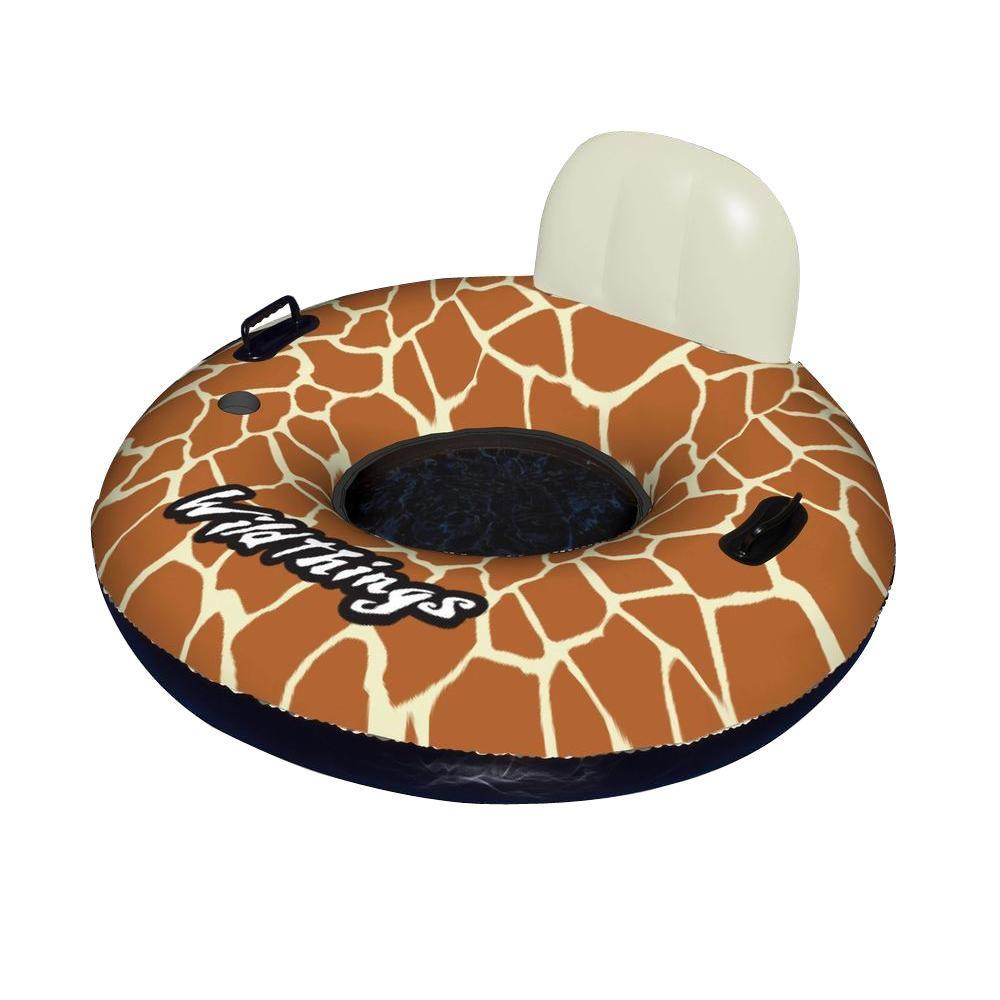 Wildthings 40 in. Giraffe Inflatable Pool Float