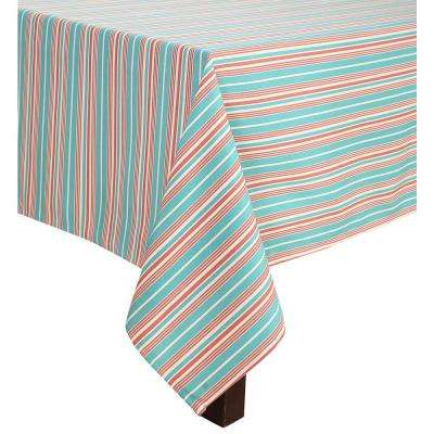 60 in. x 102 in. Waverly Lexie Indoor/Outdoor Tablecloth