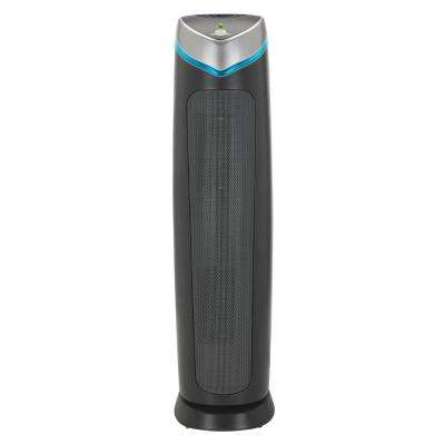 3-in-1 Pet Pure True HEPA Air Purifier System UV Sanitizer and Odor Reduction, 28 in. Digital Tower