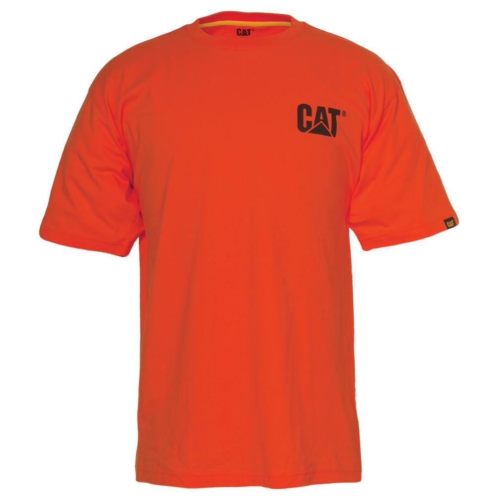 Trademark Men's X-Large Adobe Orange Cotton Short Sleeved T-Shirt