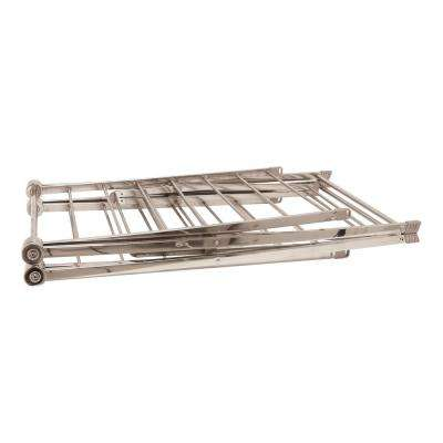 67 in. x 38 in. Large Heavy Duty Stainless Steel Drying Rack