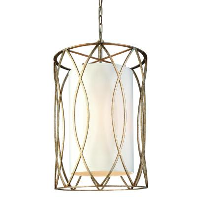 Sausalito 4-Light Silver Gold Pendant