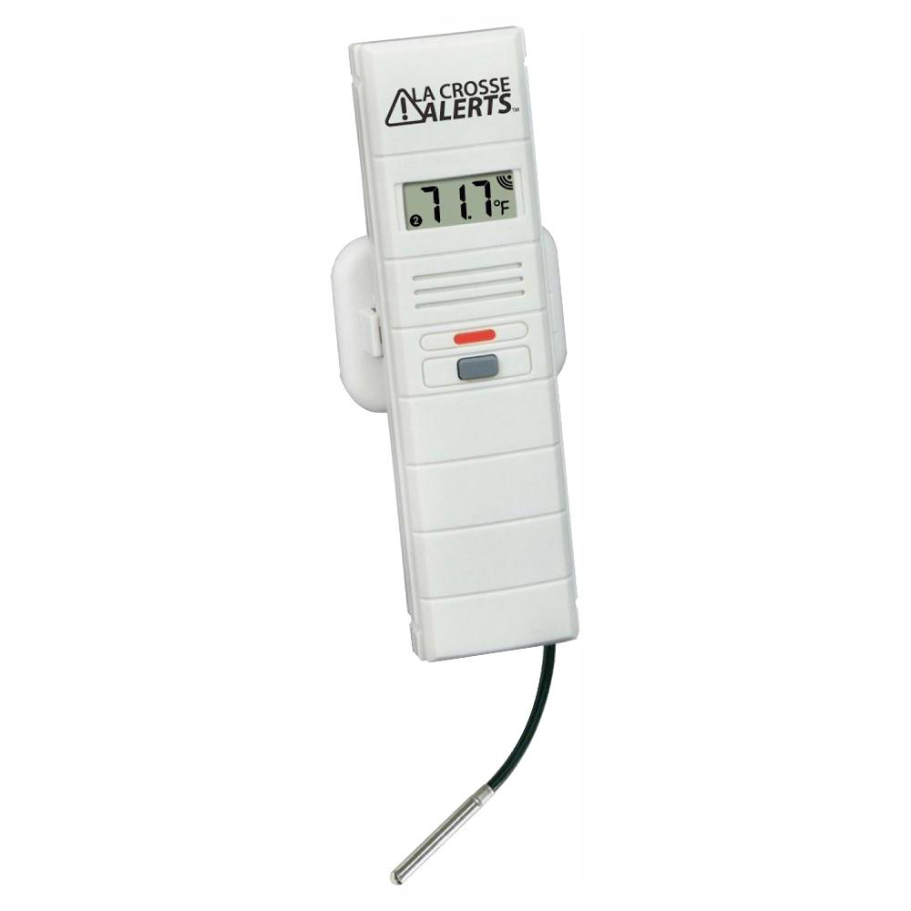 La Crosse Alerts Add-On Temperature and Humidity Sensor with Wet Probe