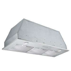 Inserta Plus 36 in. 420 CFM Ducted Built-In Range Hood with LED in Stainless Steel