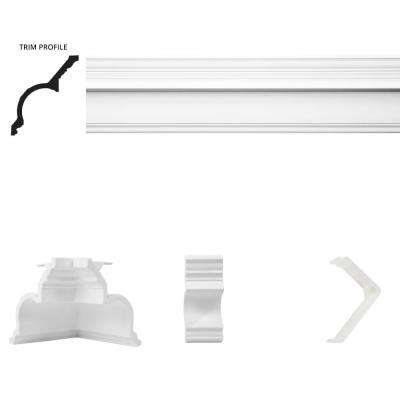 20 ft. x 20 ft. Governor's Palace Crown Moulding Room Kit