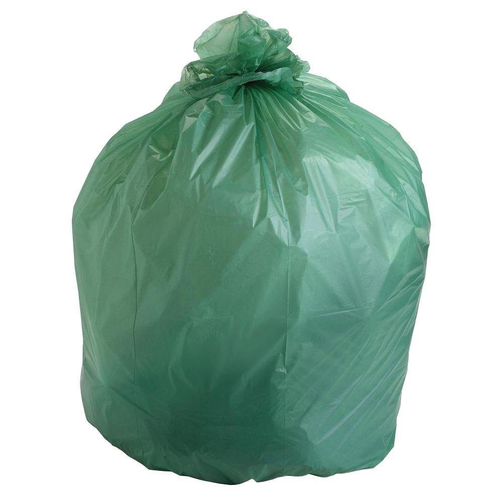 Stout 32 Gal EcoSafe Compostable Trash Bags 50 Per Box