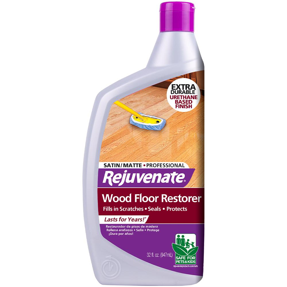 Rejuvenate 32 oz. Professional Satin Finish Wood Floor Restorer