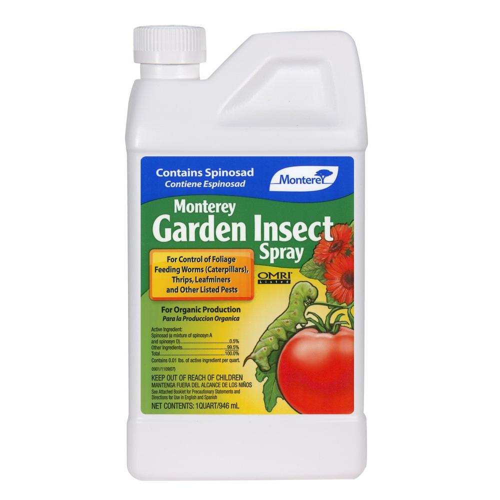 Monterey Garden Insect Spray With Spinosad Lg6135 The Home Depot