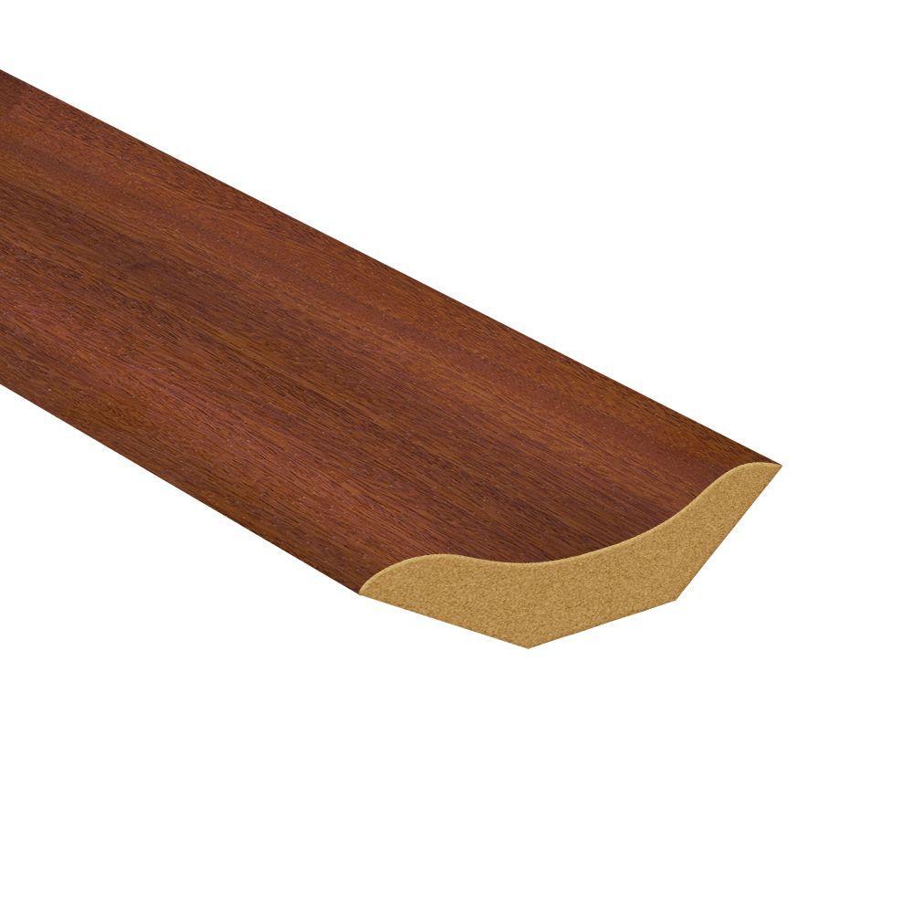 TopTile 94.5 in. x 1.06 in. Regal Cherry Woodgrain Inside 90 Degree Molding