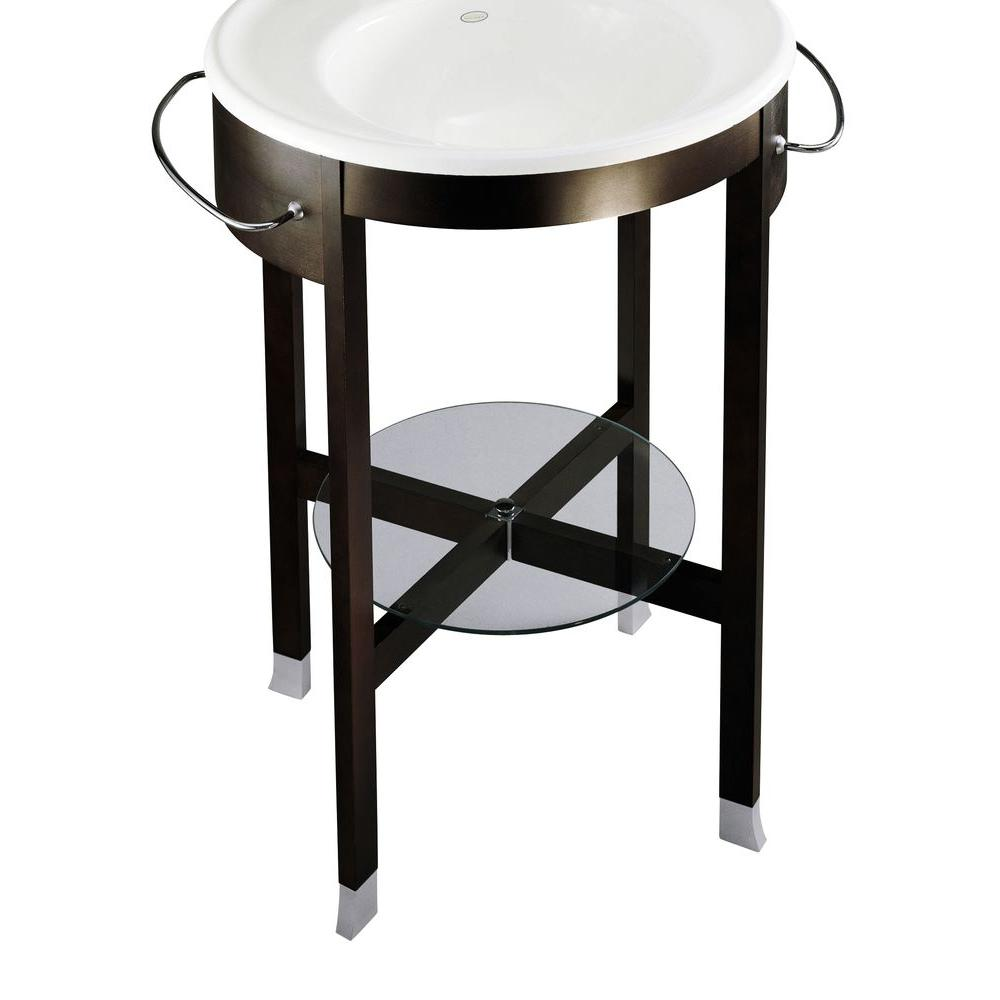 KOHLER Iron Works Tellieur Console Table in Black Forest-DISCONTINUED