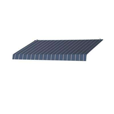 8 ft. Designer Awning Replacement Cover (36.5 in. Projection) in Tuxedo