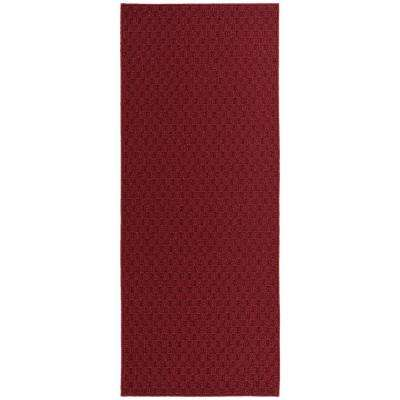 Town Square Chilli Red 2 ft. x 5 ft. Runner Area Rug