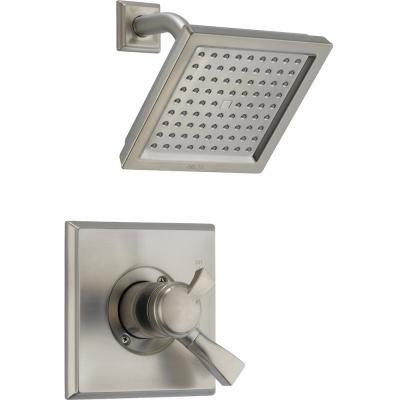Dryden 1-Handle Shower Faucet Trim Kit in Stainless (Valve Not Included)