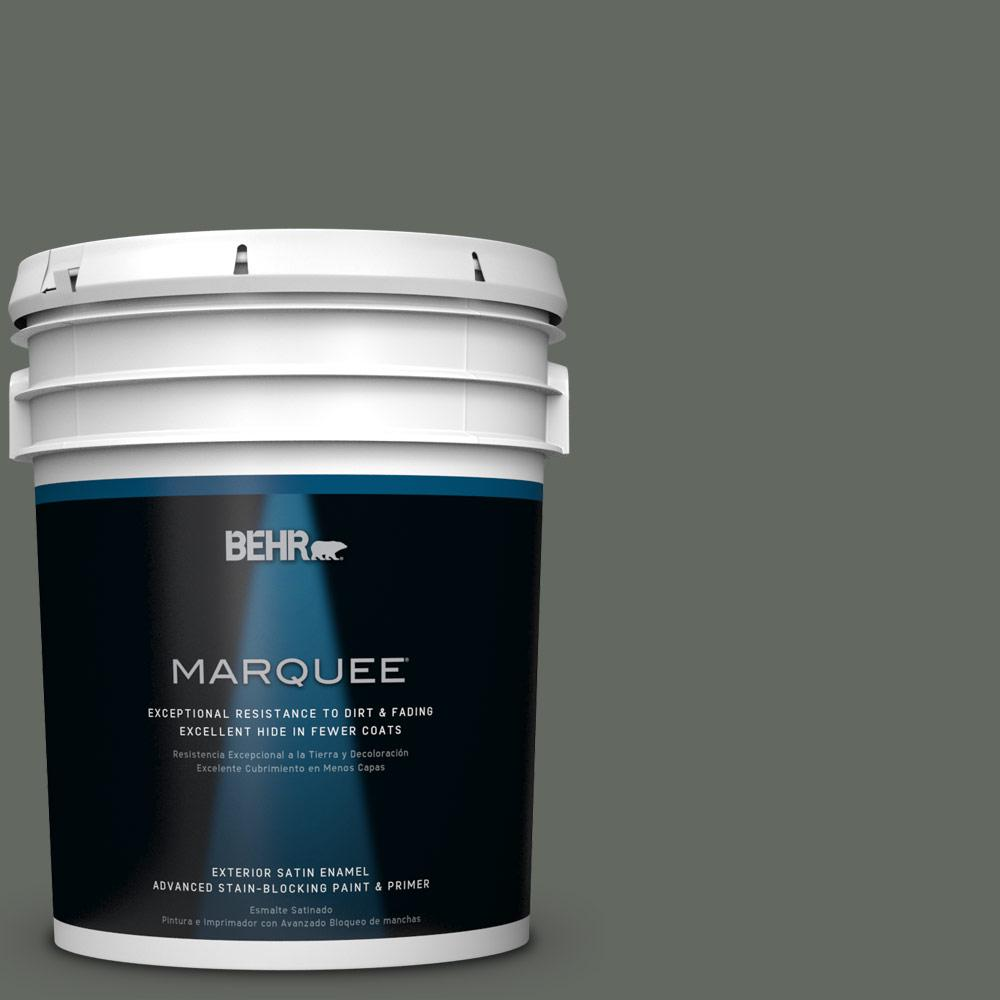 BEHR MARQUEE 5-gal. #N410-6 Pinecone Hill Satin Enamel Exterior Paint
