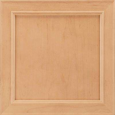 14-9/16x14-1/2 in. Cabinet Door Sample in Brookland Maple Honey