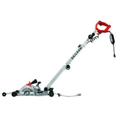 7 in. Medusaw Walk Behind Worm Drive Saw for Concrete