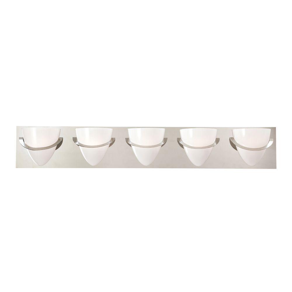 Forma Collection 5-Light Chrome Bath Bar Light